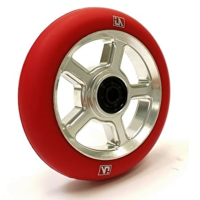 UrbanArtt S5 110mm Wheel - Chrome/Red