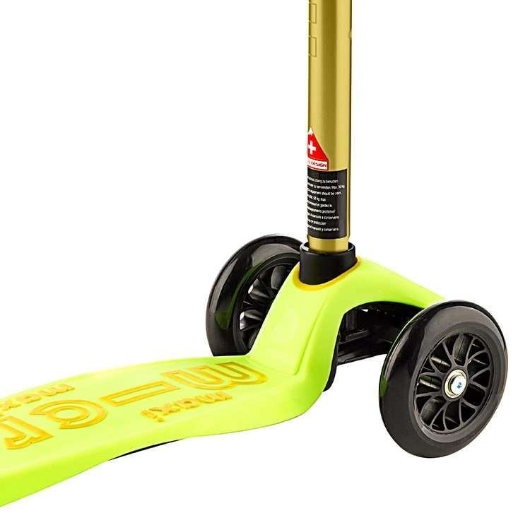 Maxi Micro Deluxe Complete Scooter - Yellow