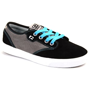 Globe Motley Kid's Shoes - Black/Grey