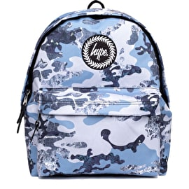 Hype Estate Camo Backpack - Blue