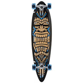 Mindless Tribal Rogue III Complete Longboard - Black/Blue