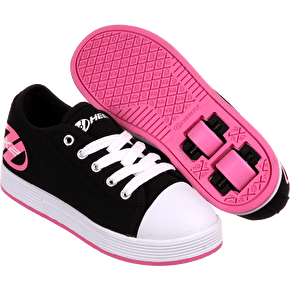 B-Stock Heelys X2 Fresh - Black/Pink - UK 2 (Box Damage)