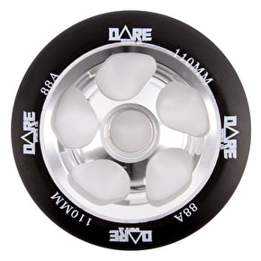 Dare Motion Scooter Wheel - Black/Silver 110mm