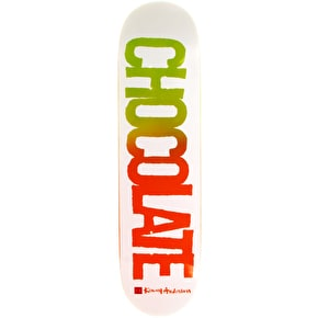 Chocolate Cut Out Skateboard Deck - Anderson 8.125