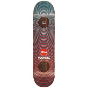 Almost Metallic Vibes Impact Skateboard Deck - Youness 8