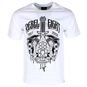 Rebel8 Secret Allegiance T-Shirt - White