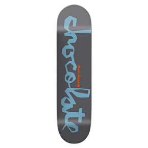 Chocolate Original Chunk Skateboard Deck - Johnson 7.875