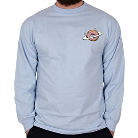 Skateboard Cafe Planet Donut Long Sleeve T shirt - Powder Blue
