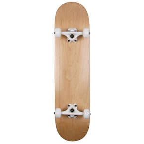Enuff Natural Custom Skateboard - Natural/White - 7.75