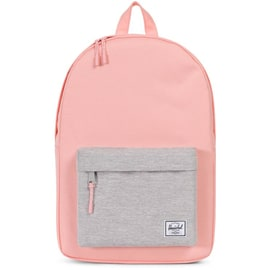 Herschel Classic Mid-Volume Backpack - Peach/Light Grey Crosshatch