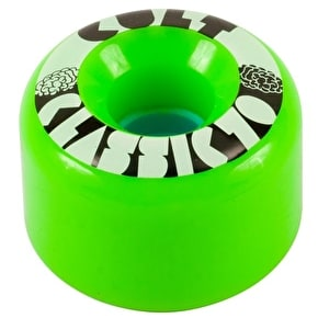 Cult Classic II 70mm 80a Longboard Wheels - Green (Pack of 4)