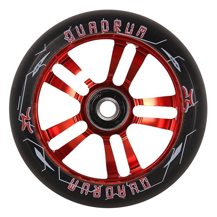 AO Quadrum 10-Star Scooter Wheel 100mm - Red