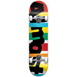 Almost Stripe Out Youth Complete Skateboard 7.25