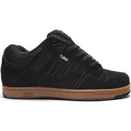 DVS Enduro 125 Skate Shoes - Black/Reflective Gum/Nubuck