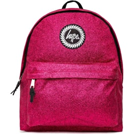 Hype Pink Glitter Backpack - Pink