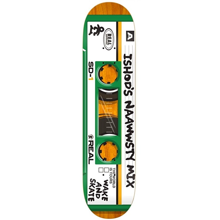 Real Mixtape Skateboard Deck - Wair 8.25""