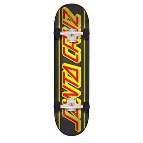 Santa Cruz Strip Complete Skateboard - Black 7.8
