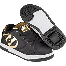 Heelys Propel 2.0 - Black Ballistic/Gold Chrome