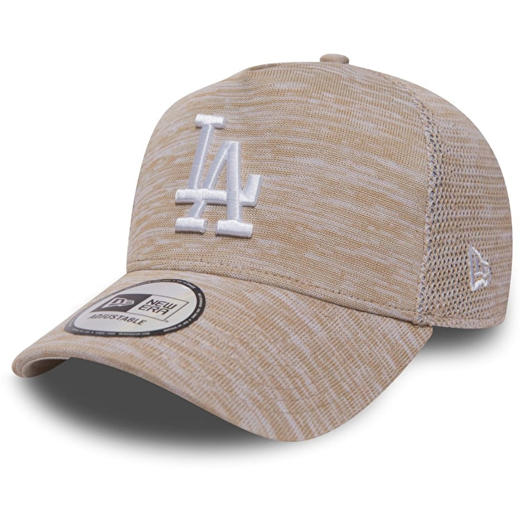 New Era Engineered Fit A Frame - LA Dodgers Cap - Stone/Optic White