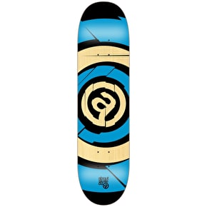 About Team Series Target Skateboard Deck - Fluo Blue 7.875