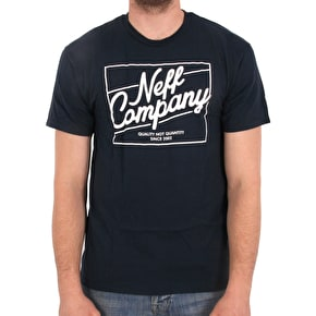 Neff The Deluxe T-Shirt - Navy