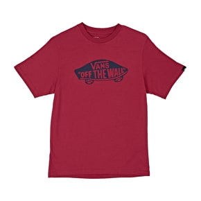 Vans OTW Kids T-Shirt - Cardinal/Dress Blue