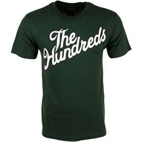 The Hundreds Forever Slant T-Shirt - Forest Green