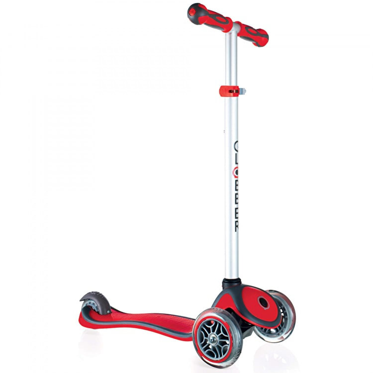 Globber Primo Plus Complete Scooter - New Red