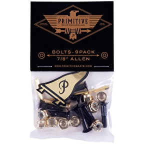 Primitive Truck Bolts - Black/Gold