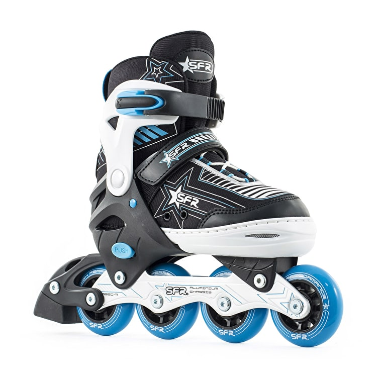 SFR Kids' Inline Skates - Pulsar Adjustable Blue