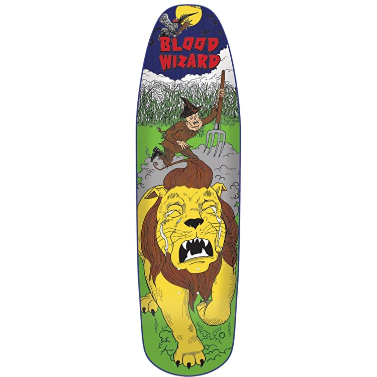 Blood Wizard Scarecrow Skateboard Deck 8.8""