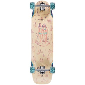 Globe Dreadnaught Complete Longboard - Doom Daughters 36