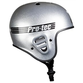 Pro-Tec Full Cut Certified Helmet - Silver Flake
