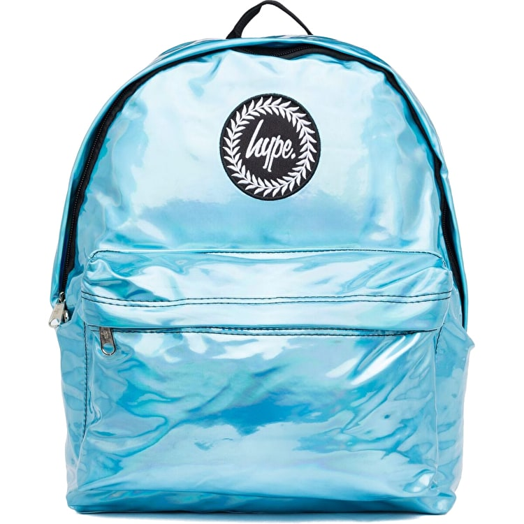 Hype Holographic Backpack - Aqua