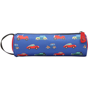Mi-Pac Cars Pencil Case - Blue Multi