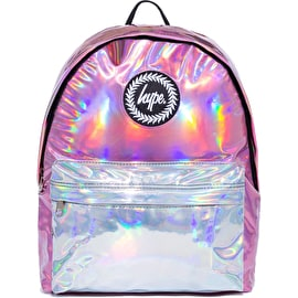 Hype Holographic Mix Backpack - Pink/Silver