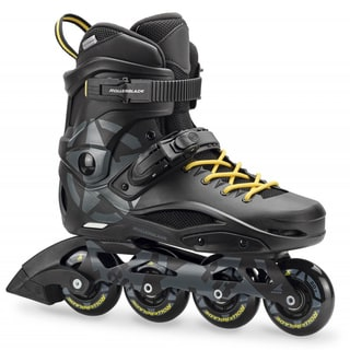 Rollerblade RB80 Roller Blades - Black/Yellow