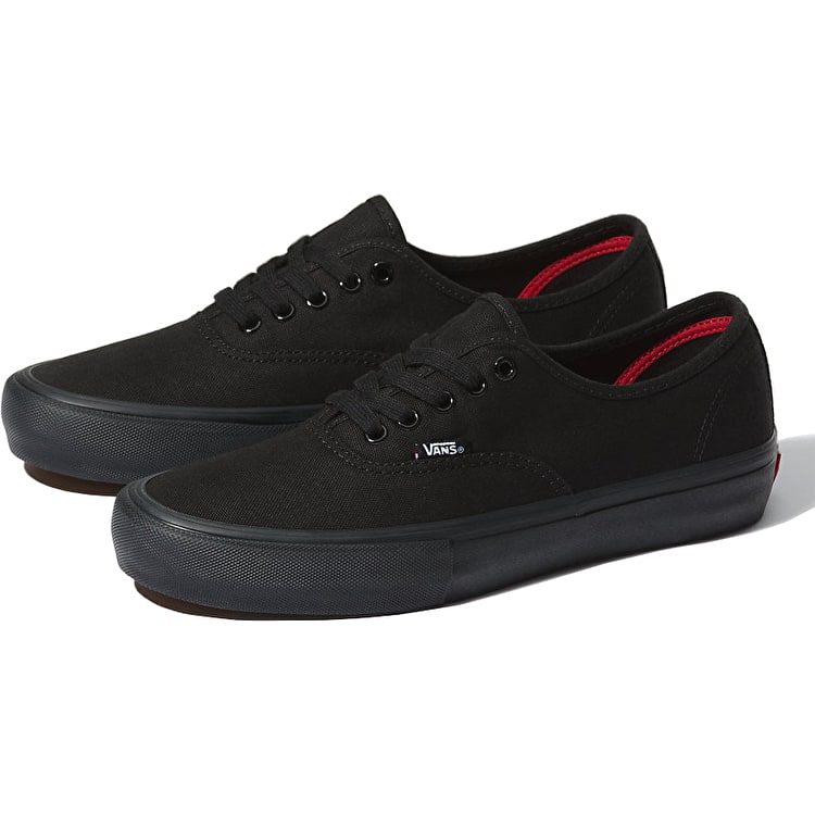 Vans Authentic Pro Skate Shoes - Black/Black