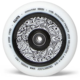 Elite Air-Ride Floral Scooter Wheel 110mm - White