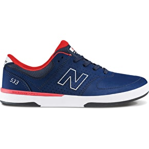 B-Stock New Balance PJ Stratford 553 Skate Shoes - Aviator Blue UK 8 (Box Damage)