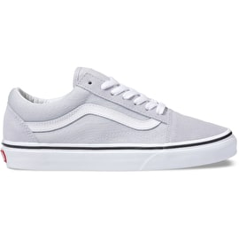 Vans Old Skool Skate Shoes - Grey Dawn/True White