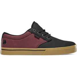 Etnies Jameson 2 Eco Skate Shoes - Black/Red/Gum