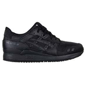 Asics Gel-Lyte III Shoes - Black/Black