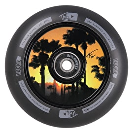 Lucky Scooters Tanner Fox Sig 100mm Scooter Wheel - Black/Black