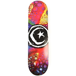 Foundation Star & Moon Liquid Light Skateboard Deck - 8.125''