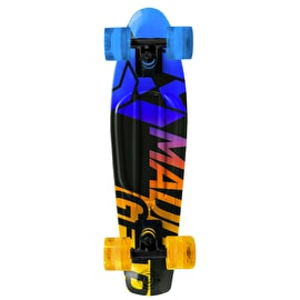 Madd Gear Pro Urban Wrap Retro Cruiser - Fader Blue/Yellow