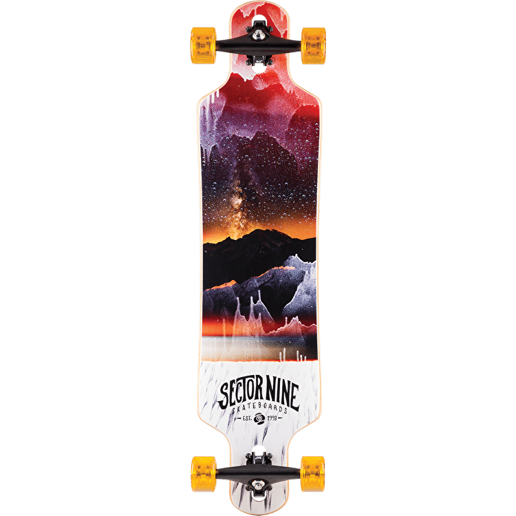 "Sector 9 Meridian 16 40"" Complete Longboard - Red"