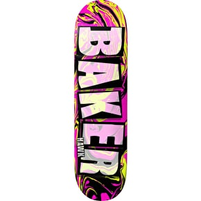Baker Brand Name Abstract Skateboard Deck - Hawk 8.5
