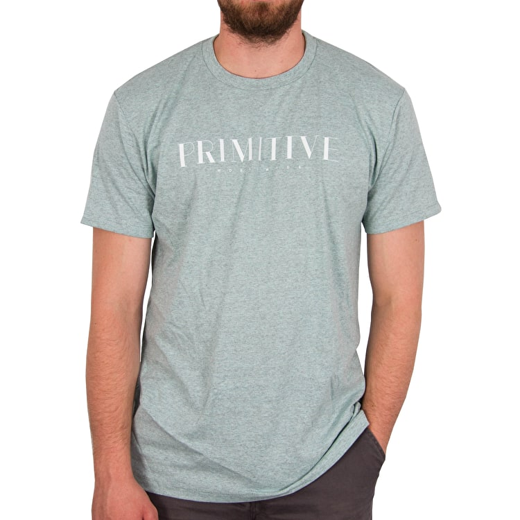 Primitive Lux T-Shirt - Coral Heather