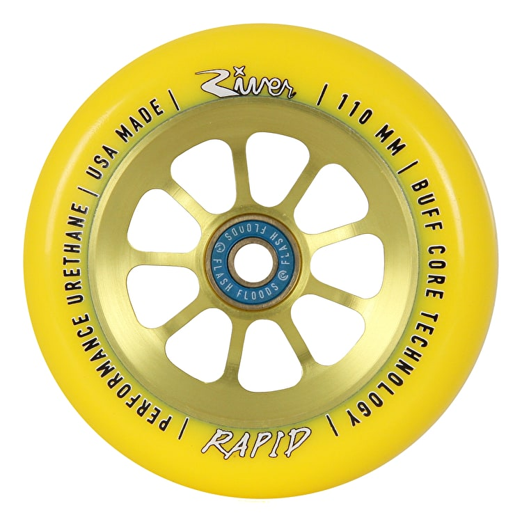 River Rapids Pro Scooter Wheel 110mm - Sunrise